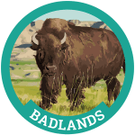 Badlands Badge