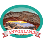 Canyonlands Badge
