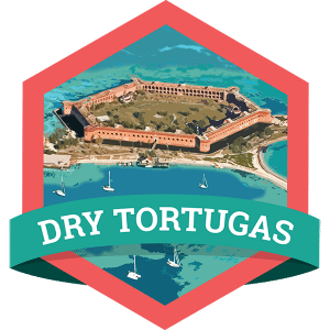 Grab your snorkel and hop on a boat or seaplane from Key West to explore Dry Tortugas National Park, where you can explore the same islets Ponce de Leon stumbled upon and find stunning fish and coral reefs.