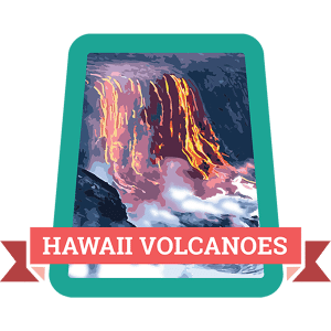 Hawaii Volcanoes Badge