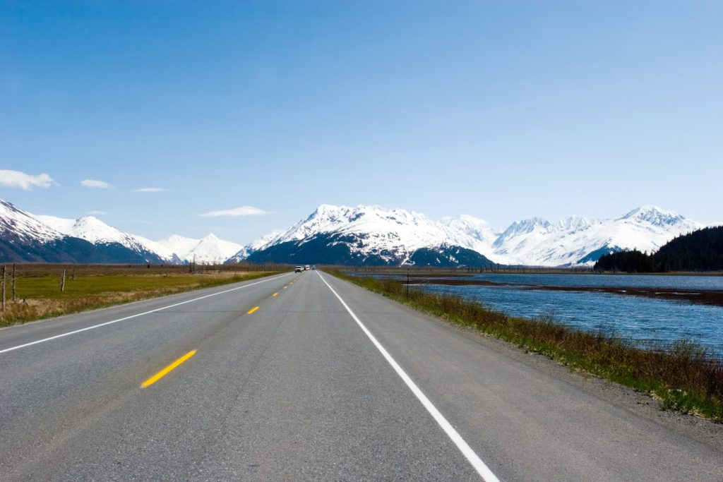 Highway to Seward, Alaska