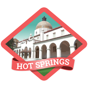 Hot Springs Badge
