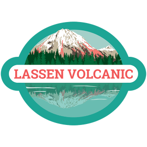 Lassen Volcanic Badge