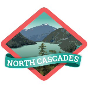 North Cascades Badge