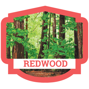 Redwood Badge