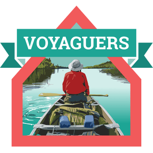 Voyaguers Badge