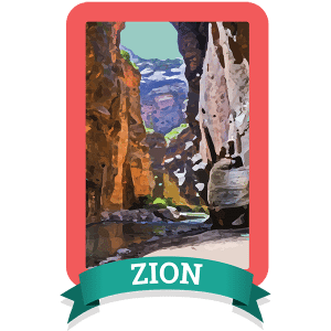 Zion Badge