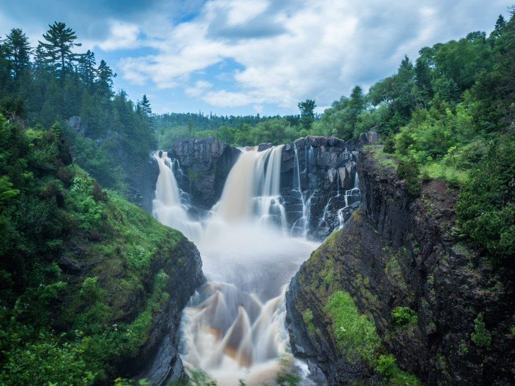 Grand Portage State Park Waterfall