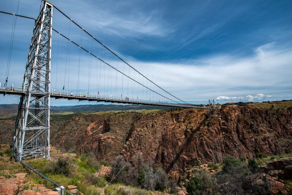 Royal Gorge Bridge Colorado, higher bridge of USA