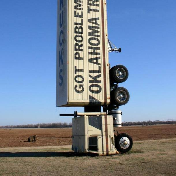 18 Wheeler Billboard Oklahoma