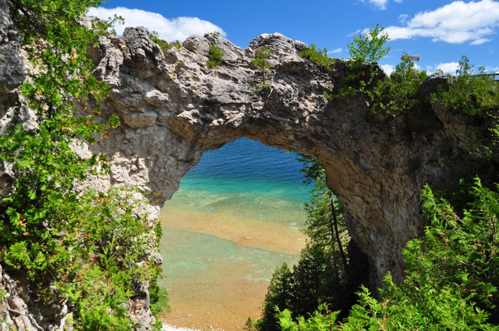 Arch Rock, Mackinac Island, MI