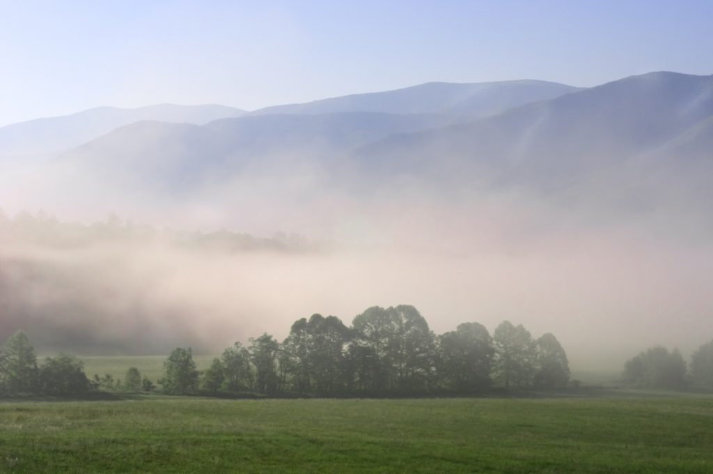 Cades Cove in Great Smoky Mountain National Park,