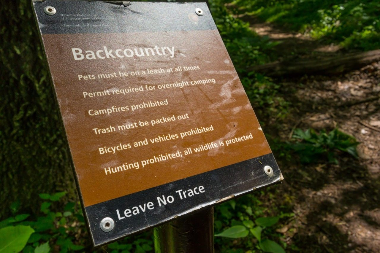 Leave No Trace Travel Tips