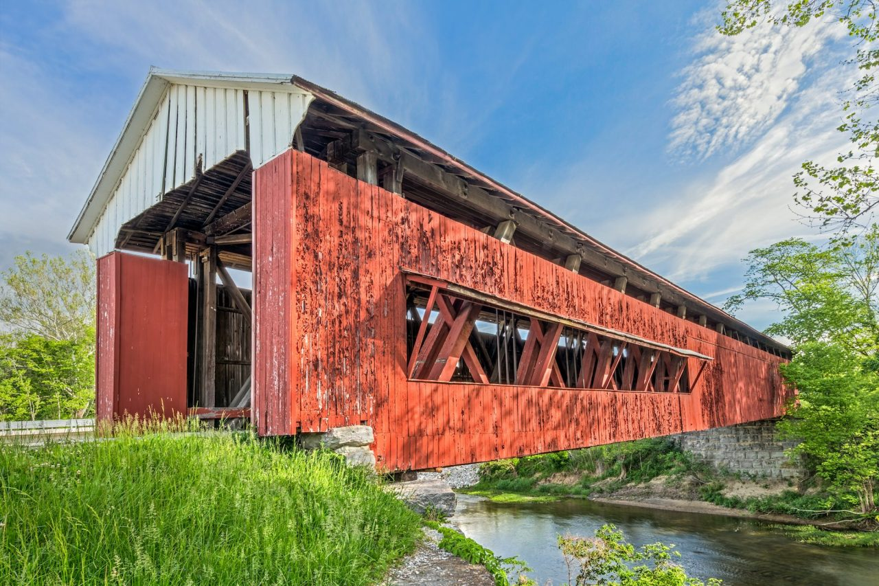Brown County Indiana and its Covered Bridges