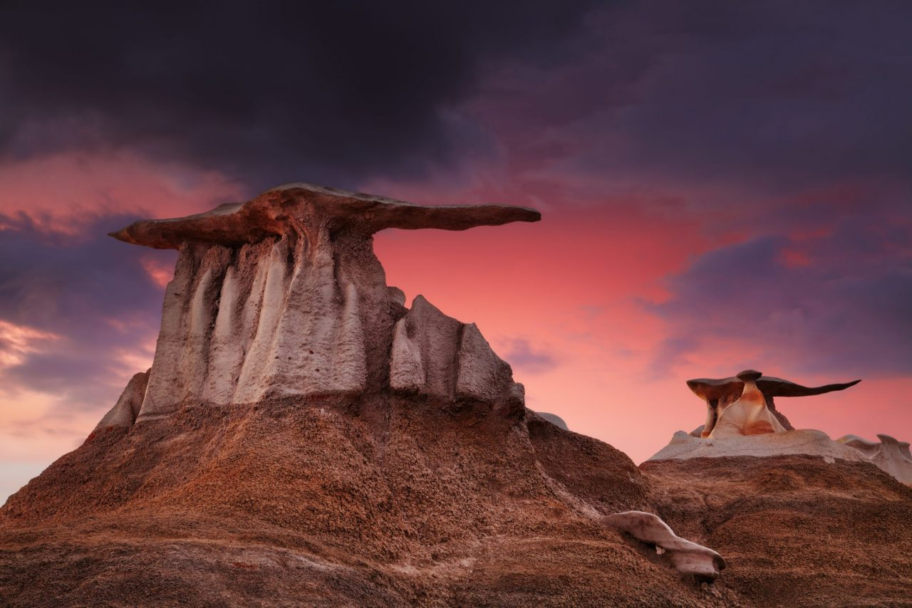 Explore the Bisti and De-Na-Zen Badlands