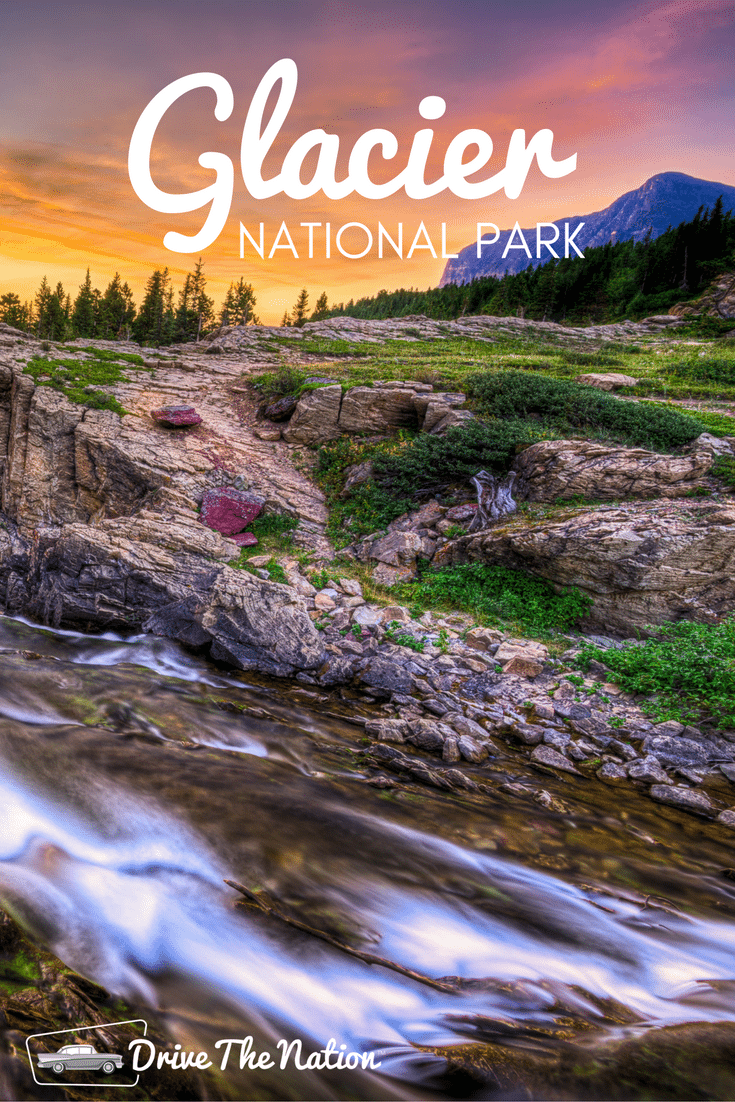 In Glacier National Park you can find not only glaciers but also crystal clear lakes, rugged mountains, wildflower dotted meadows and beautiful forests.