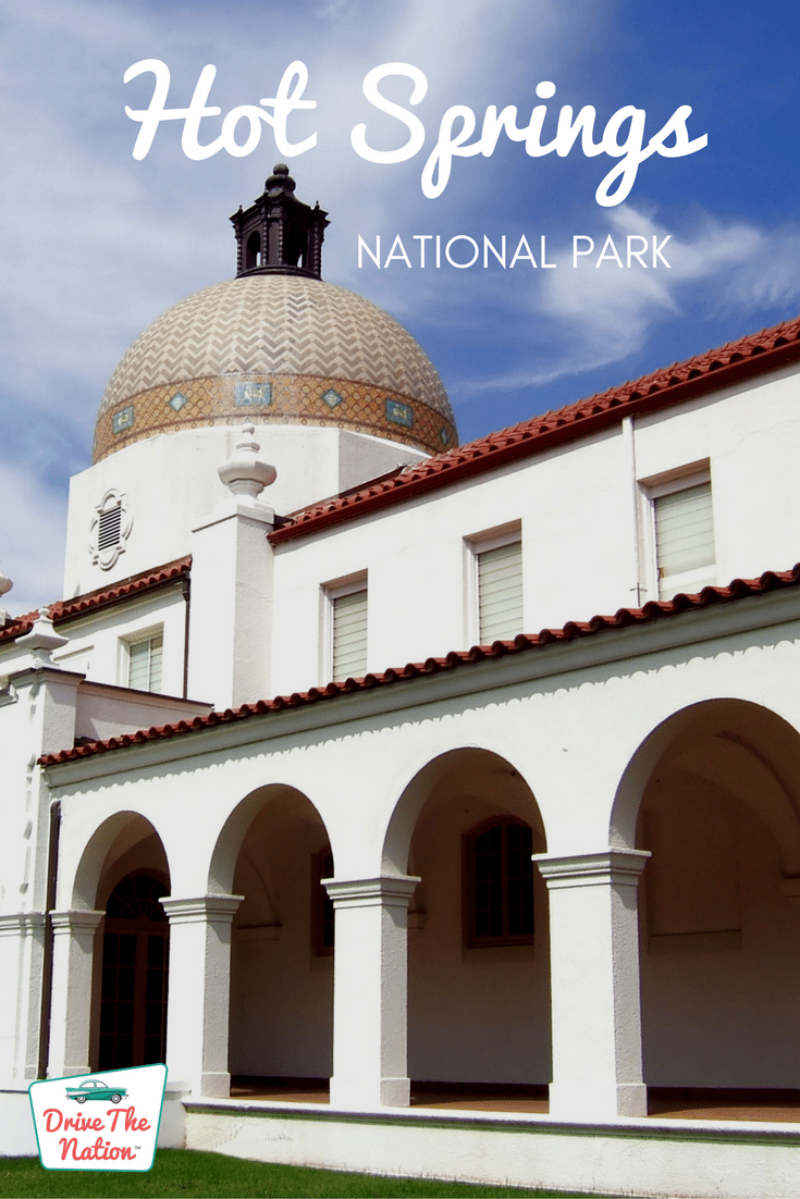 Today, this national park is famous for its prestigious collection of bathhouses and its 47 hot springs.