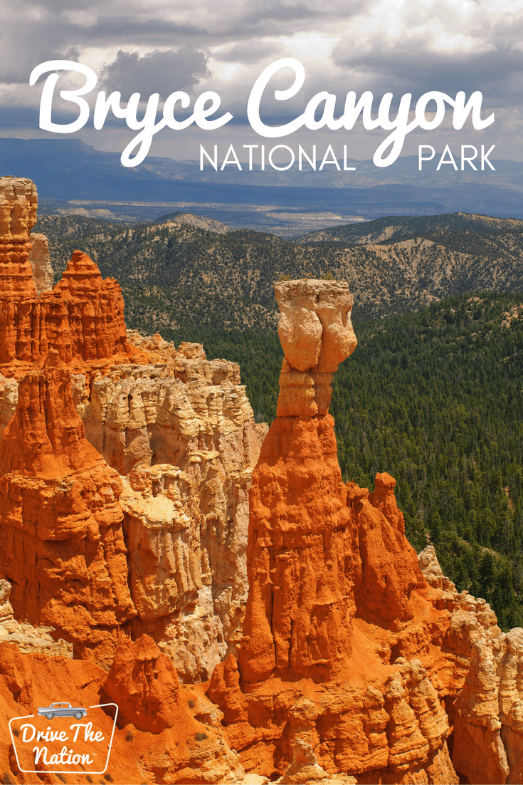 The hoodoos (those red rock formations that look like bumpy spires) are beautiful year-round but seem especially magical with a light dusting of snow.