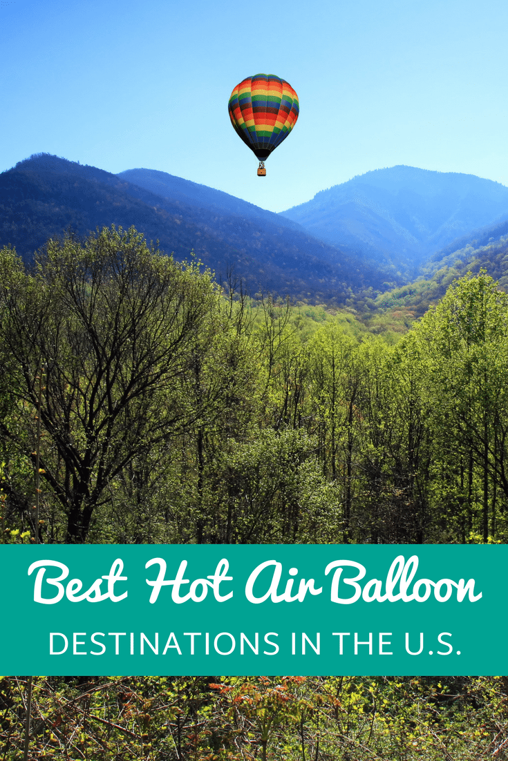 These gorgeous destinations will have you floating on air!