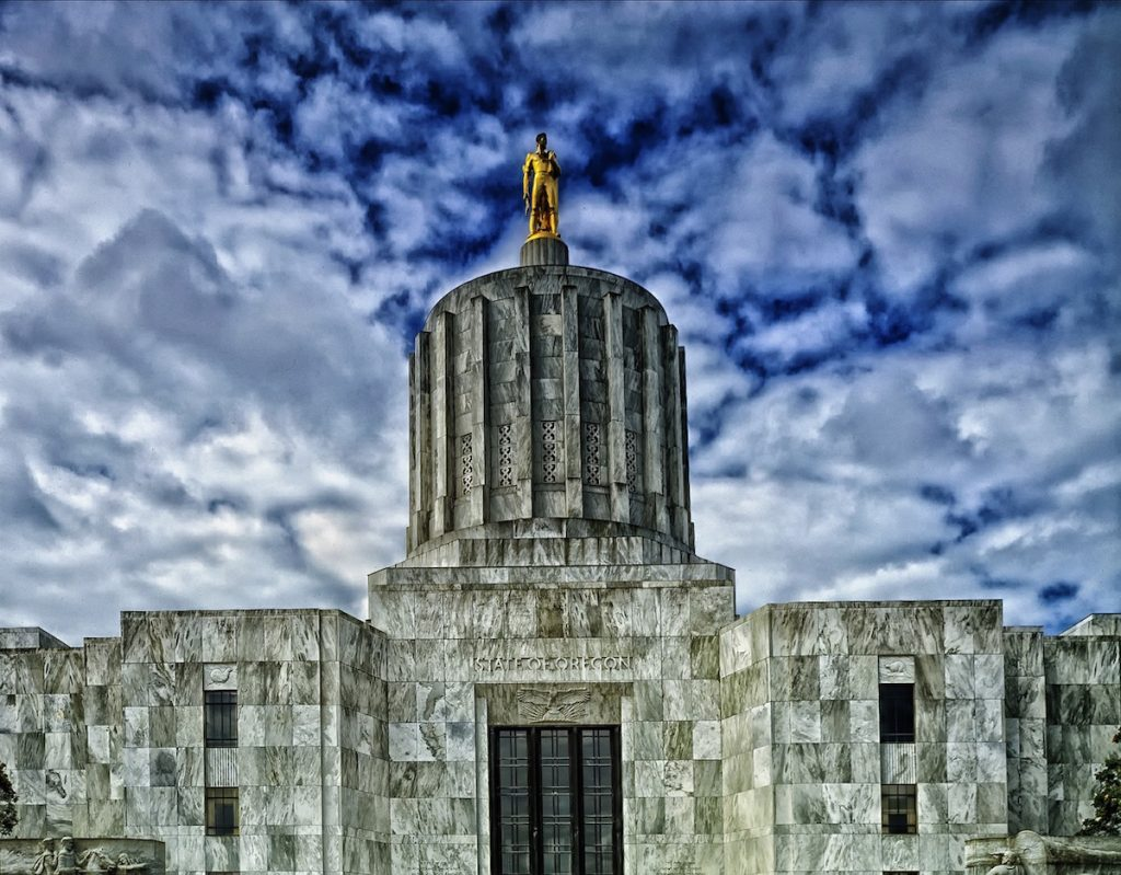 Salem Oregon State Capitol