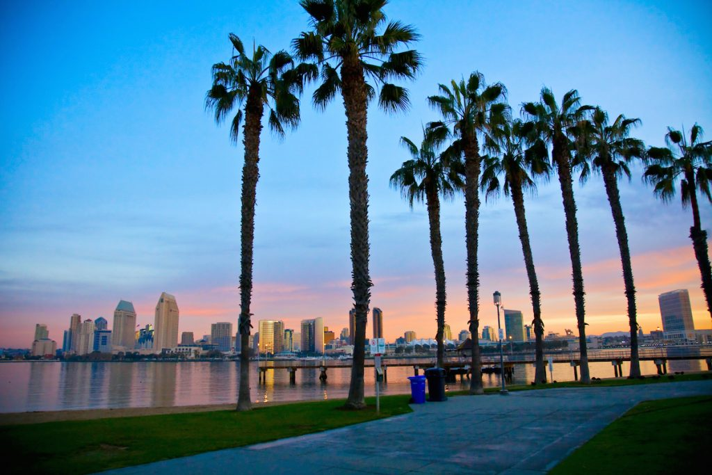 Beach in Coronado, California