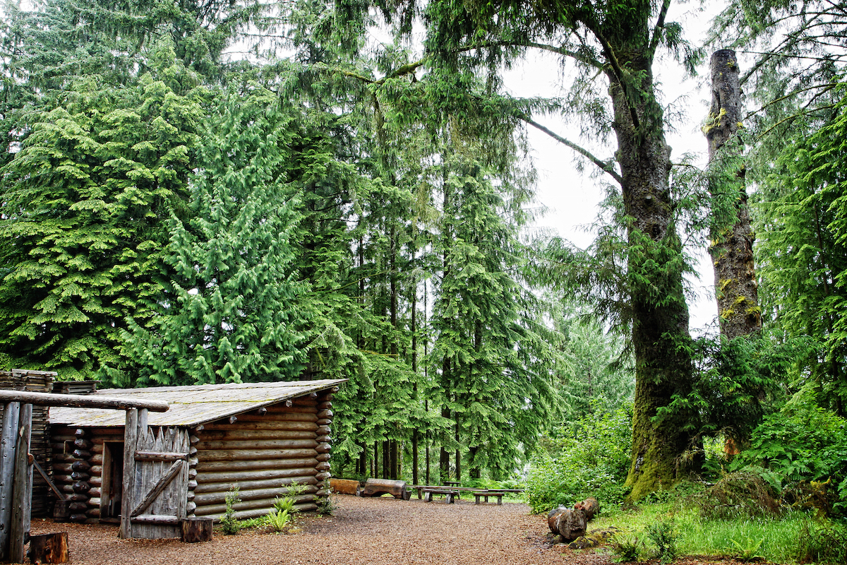 Lewis and Clark National Historic Park in Oregon