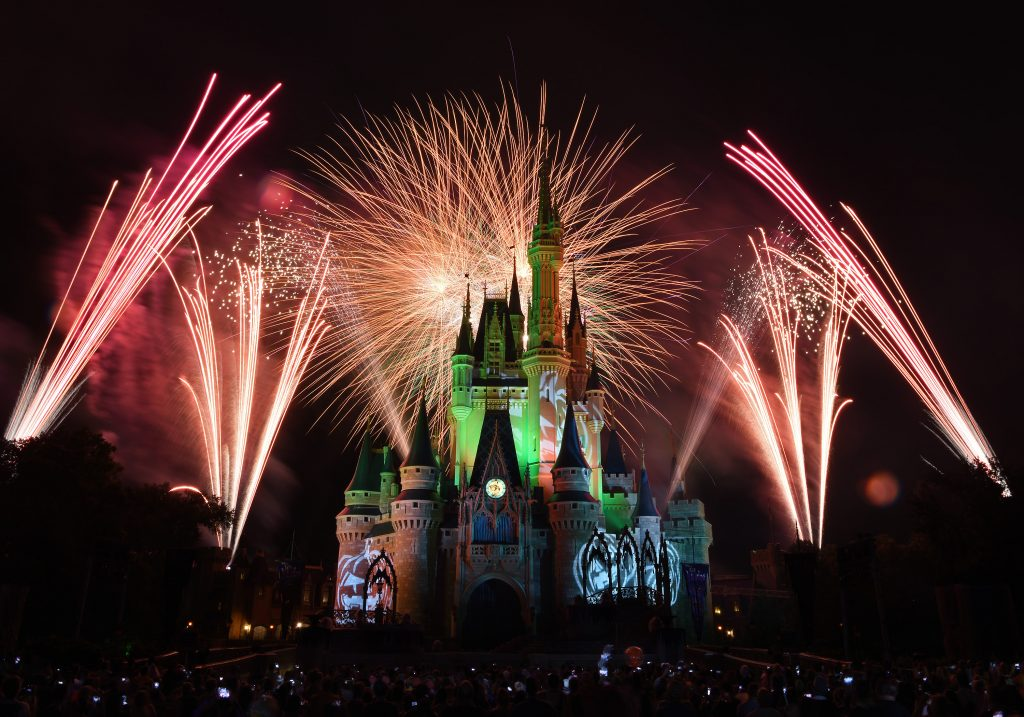 """Happy HalloWishes"" Fireworks at Magic Kingdom"