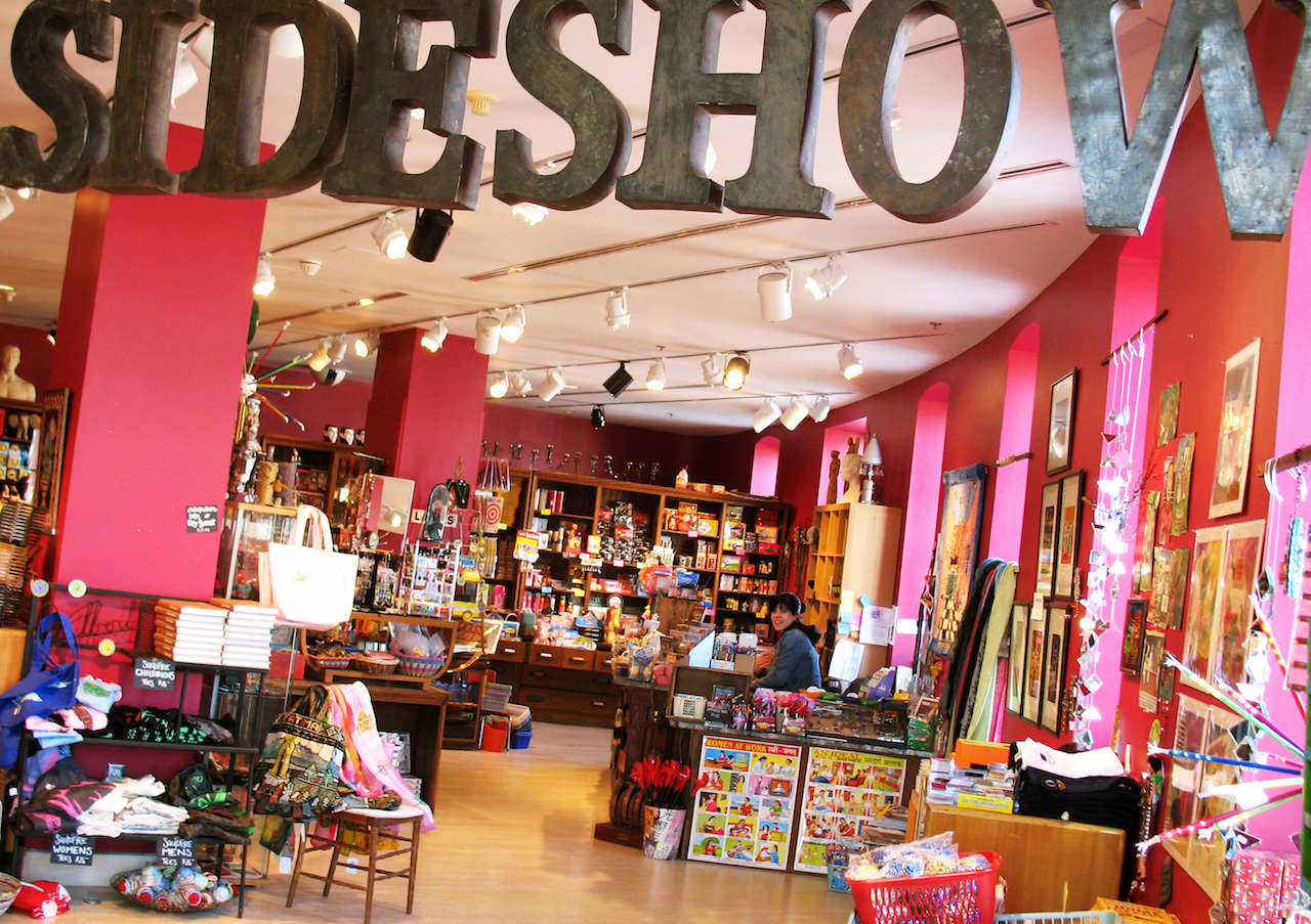 Photo of the Sideshow shop located inside of the AVAM