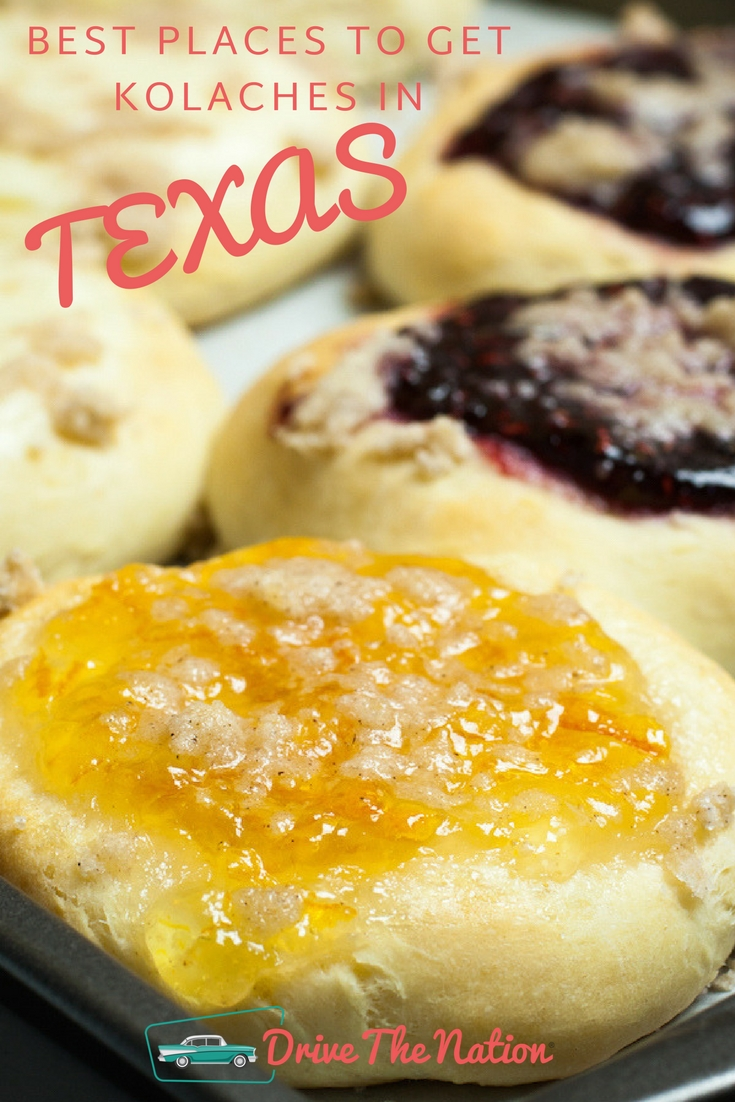 Best Places to get Kolaches in Texas Pin