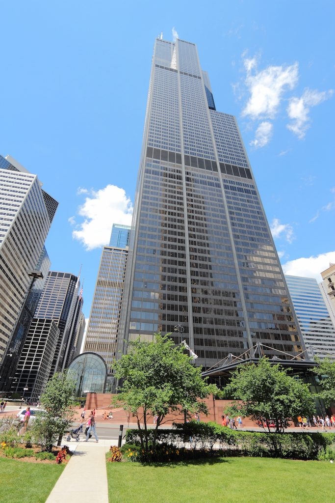 The Willis Tower in Chicago. Formerly The Sears Tower