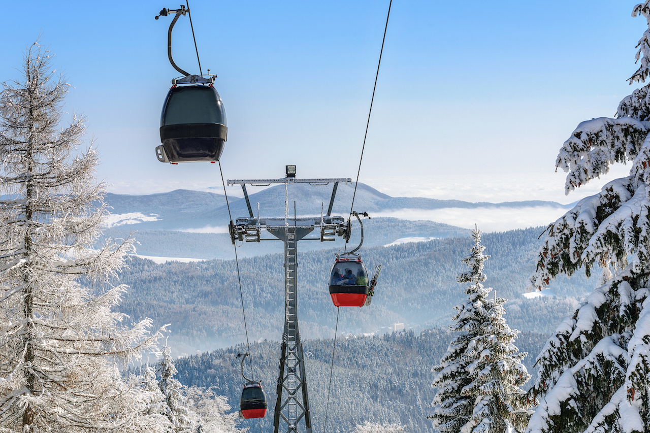 Enjoy Incredible Views from a Gondola