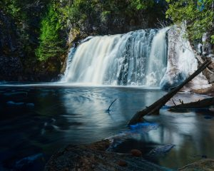 Spruce Creek Minnesota waterfall