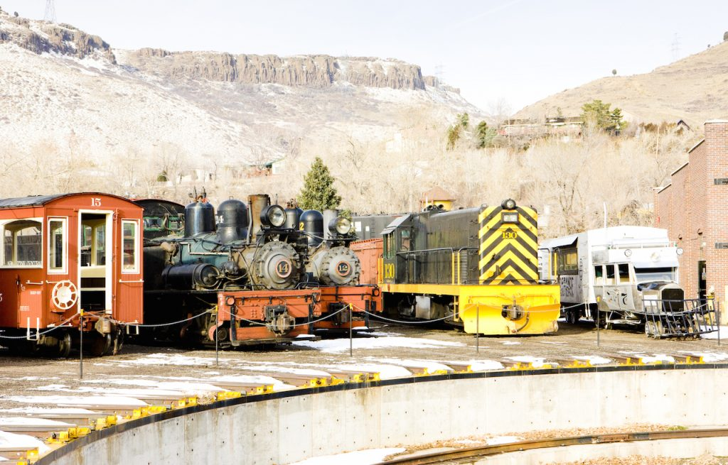 Colorado Railroad Museum, USA