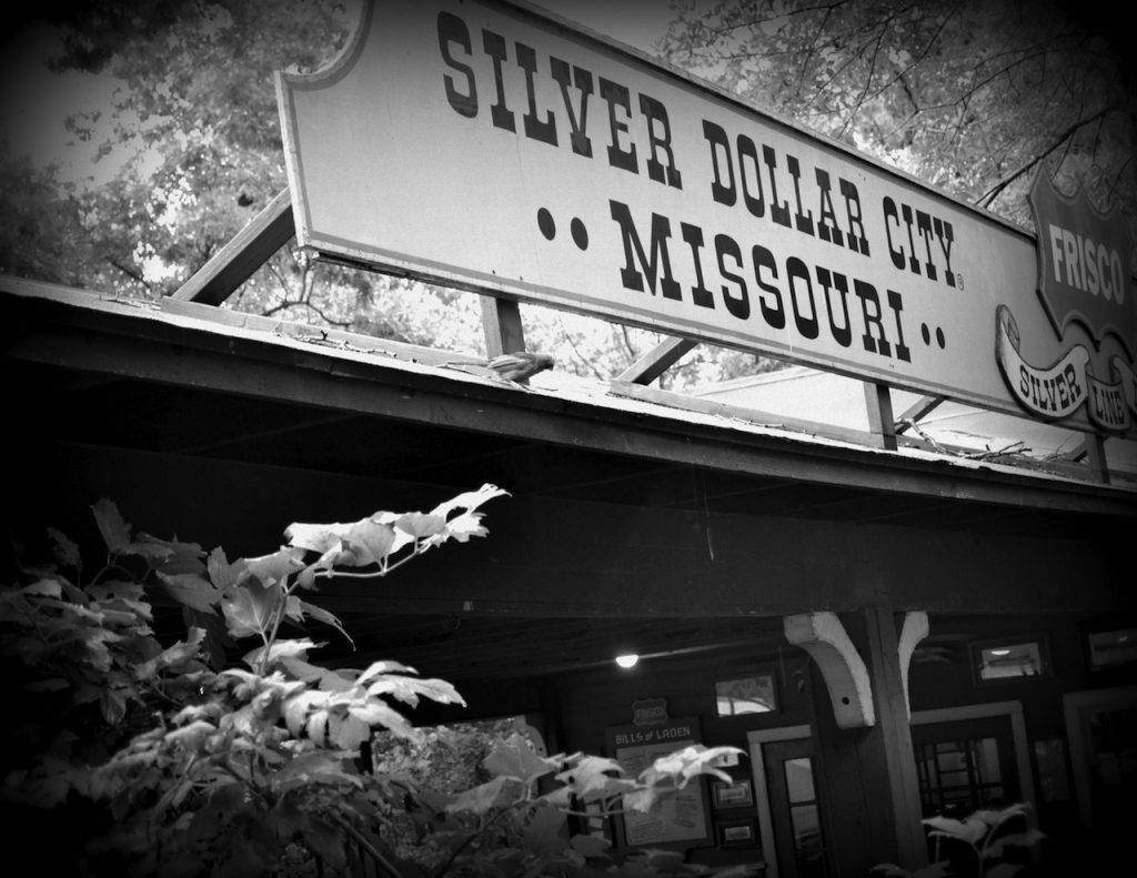 Train Depot at Silver Dollar City in Branson, Missouri