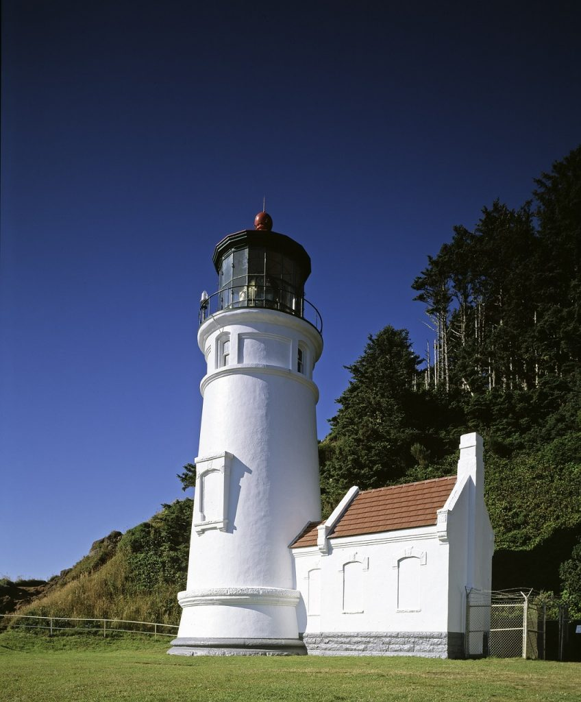 Heceta Head Light lighthouse in Oregon