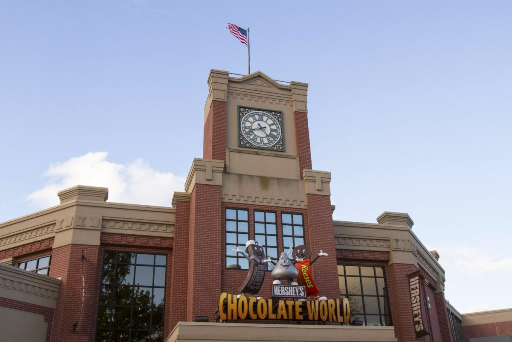 Chocolate World attraction at HersheyPark