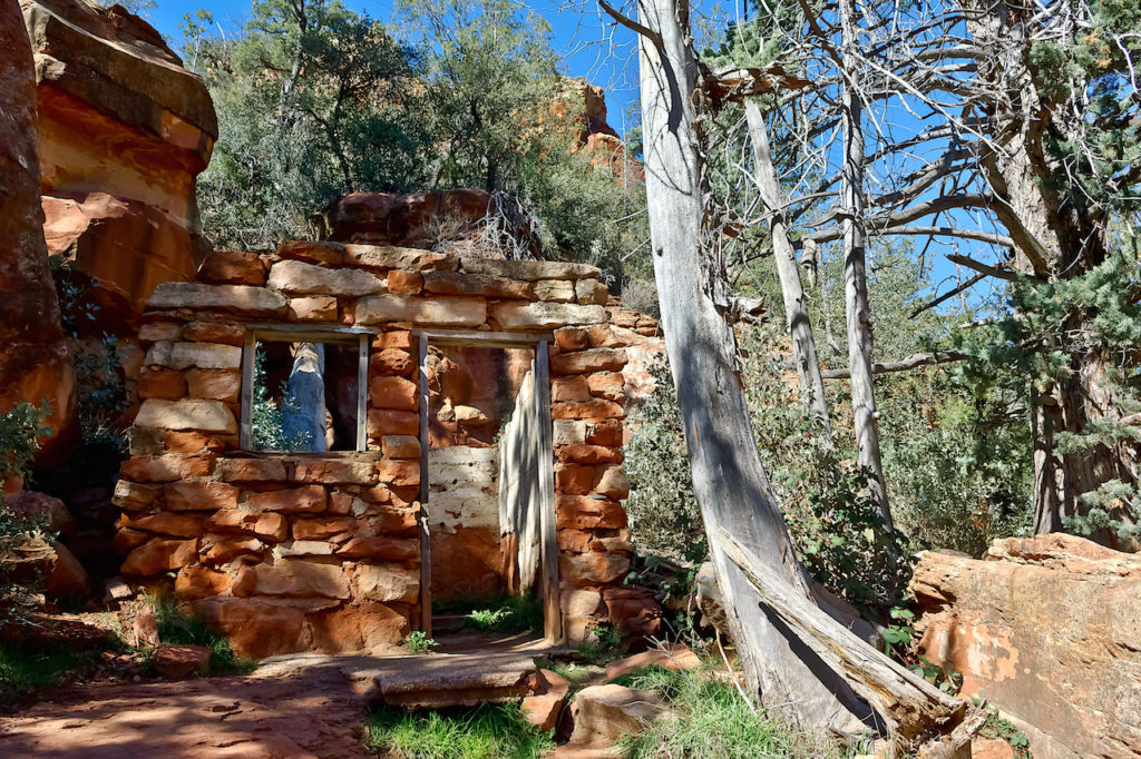 Pendley Trail at Slide Rock State Park ins Sedona Arizona