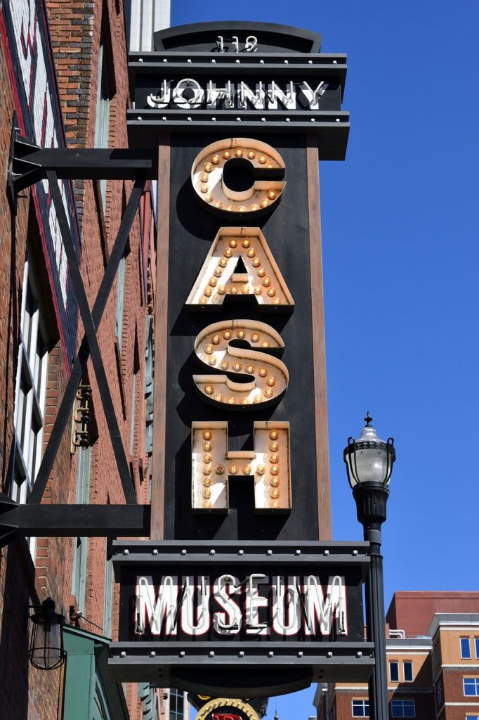 Johnny Cash museum in Nashville