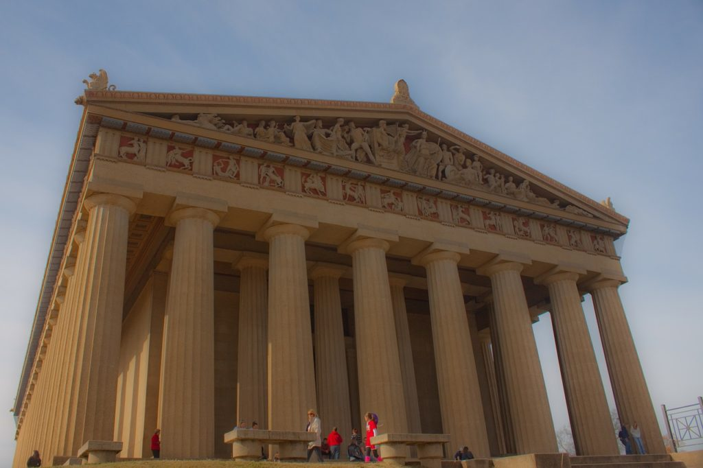 Parthenon Pillars in Nashville, TN
