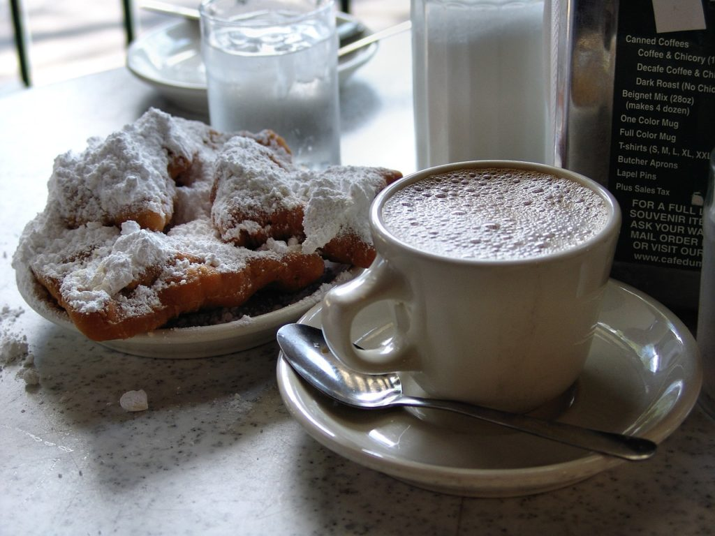 Cafe Du Mond in New Orleans