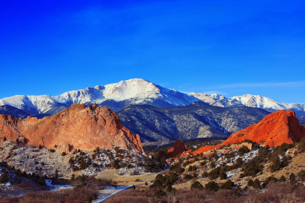 Pikes Peak in Colorado Springs, CO