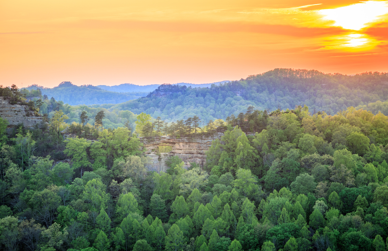 Exploring Red River Gorge Drive The Nation