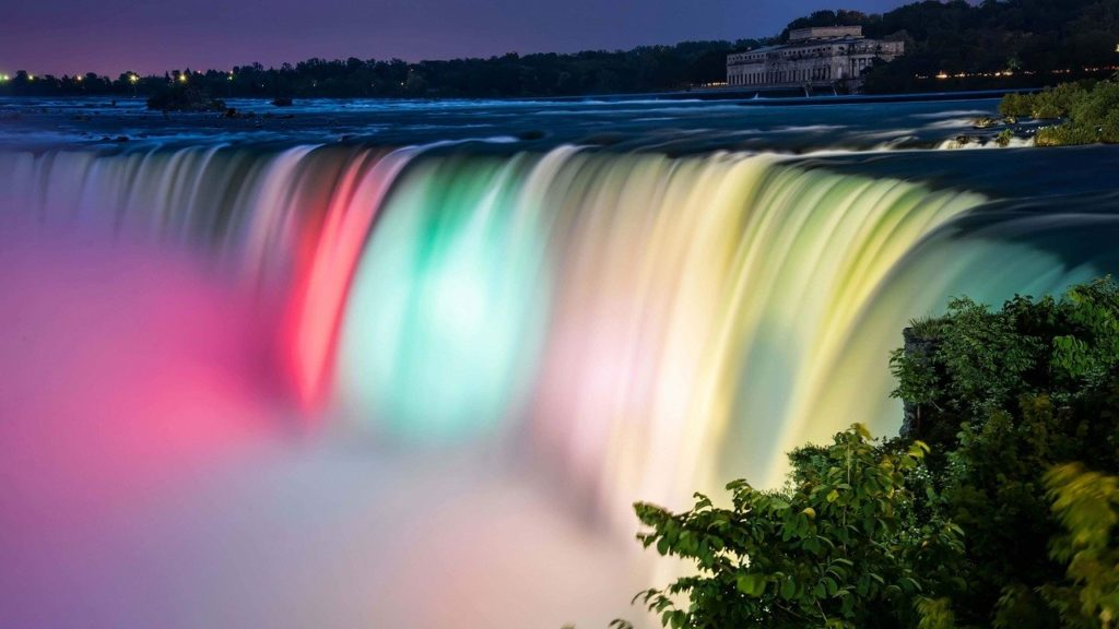 Niagara Falls Illumination, New York