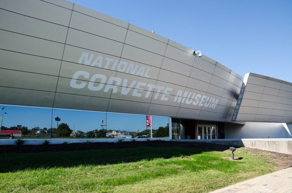 National Corvette Museum in Bowling Green Kentucky