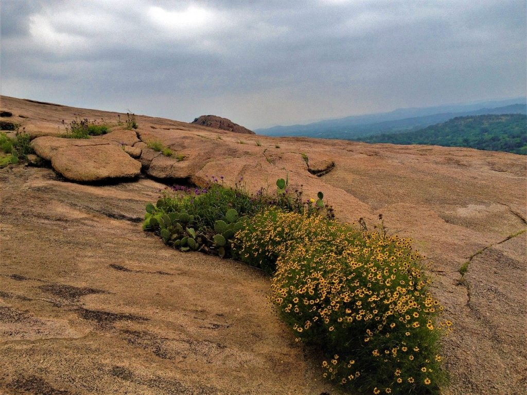 Enchanted Rock State in Texas